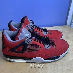 Jordan Retro 4 Toro Bravo Size 14 (308497-603) Rouge Noir