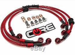 Kit De Conduites De Frein Personnalisées Core USA Honda Cbr600rr 2005-2006