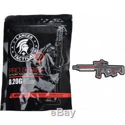 Lancer Tactique Exécuteur Merle Skeleton Aeg Alpha Réassort Fps Noir / Rouge