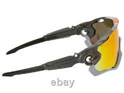 Lunettes De Soleil Oakley Jawbreaker Aero Flight Oo9290-3431 Matte Carbon/prizm Ruby