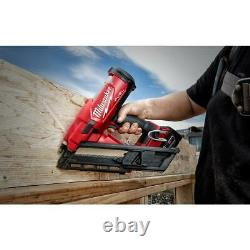 M18 Cordless Framing Nailer 3-1/2 Outil Gratuit Brushless Nail Guns Power Tool Only
