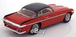 Matrix 1953 Ferrari 212 Inter Coupe Vignale Rouge / Noir Echelle 1/18 Nouveau! En Stock