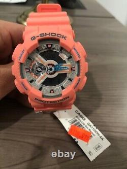 Montre Analogique Numérique Standard Casio G-shock Ga-110dn-4a Orange