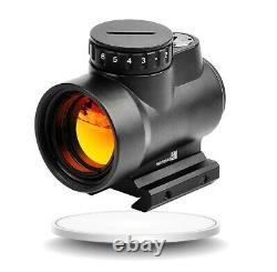 Mro 1x25 Red Dot Sight Clone Illuminated Holographic Hunting Scope Gear Stock Us