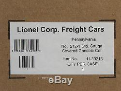 Mth Lionel Corporation Tinplate Standard Gauge Prr Gondola Couvert Voiture 11-30213