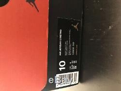 New Air Jordan 12 Chaussures Hommes Grippe Jeu Sz 10 Noir / Rouge Stock X Verified Animaux Morts
