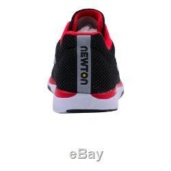 Newton Mens Distance 8 Chaussures De Course Baskets Chaussures Noir Rouge Sport