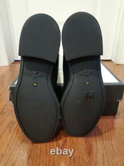 Nib 100% Authentique Gucci Classique Femme 40 Bottes Noires Tall Bee Rouge Vert