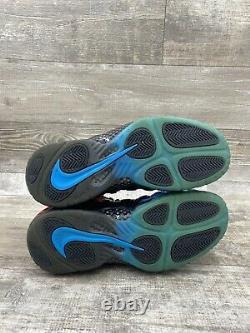 Nike Air Foamposite Pro Prm Spider Man Bleu Noir Rouge 616750-400 Foam Size 9.5