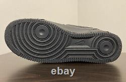 Nike Air Force 1 Expérimental Black Anthracite Rouge Hommes Taille 10.5 Cv1754-001