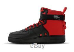Nike Air Force Utility MID Habanero Rouge-noir-bl Stock Limité Pour Toutes Les Tailles