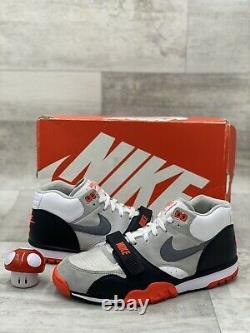 Nike Air Formateur 1 MID Prm Qs Bo Jackson Cool White Gris Noir Rouge 607081-100 12