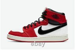 Nike Air Jordan 1 High Ko Chicago Hommes Taille 10 Da9089-100 Noir Rouge Blanc Nouveau