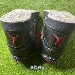 Nike Air Jordan 1 High Retro Hall Of Fame Hof Noir Rouge 2009 Sz 13