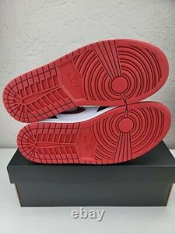 Nike Air Jordan 1 MID Metallic Gym Rouge/noir/blanc 554724-122 Tailles Homme