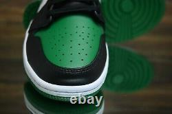 Nike Air Jordan 1 MID Pin Vert Noir Rouge 554724-067 Chaussures De Basket-ball Des Nouveaux Hommes
