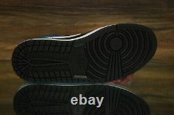 Nike Air Jordan 1 MID Se Chaussures En Cuir Verni Noir Rouge Cv5276-001 Femmes Nouveau