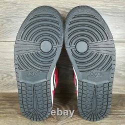 Nike Air Jordan 1 Mid'chicago Black Toe' Sneakers (554724-069) Tailles Homme & Gs