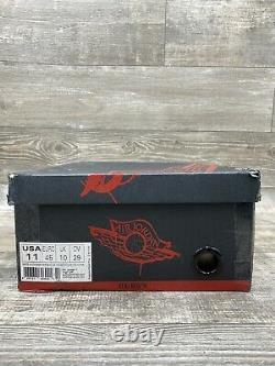 Nike Air Jordan 1 Og High Dave White Taille 11 Wings Black Red Cement 464803-001