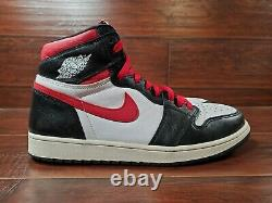 Nike Air Jordan 1 Taille Homme 13 Retro High Black Gym Red (555088-061) Excellent