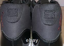 Nike Air Jordan 11 Rétro 72-10 Taille Homme 12 Noir/rouge/blanc 378037-002 Vnds