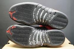 Nike Air Jordan 12 Retro Trainers Inverser Flu Game Og Red Black Sneakers Ct8013