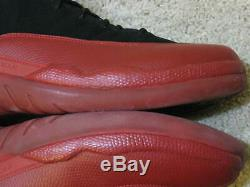 Nike Air Jordan 12 Retro XII Grippe Jeu 2009 Sick Visage 97 38 Rouge Noir Bred Hommes 10