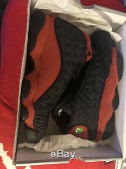 Nike Air Jordan 13 XIII Og Bred Noir Rouge Taille 11 Rétro Super Stock De Nice Mort