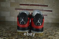 Nike Air Jordan 3 III Retro Doernbecher 2010 Db Rouge Noir 437536-600 Taille 9.5