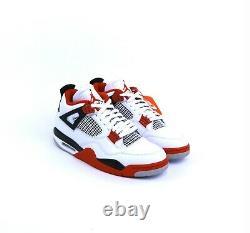 Nike Air Jordan 4 Rétro Incendie Rouge 2020 Dc7770-160 Blanc Rouge Noir 2020