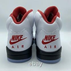 Nike Air Jordan 5 Rétro Fire Red 2020 Da1911-102 Homme 9