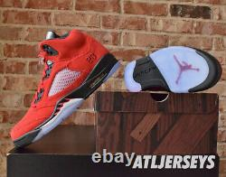 Nike Air Jordan 5 Retro Raging Bull Rouge Noir Dd0587-600 Taille