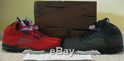 Nike Air Jordan 5 V Retro Chaussures Dmp Defining Moments Pack Black Red Men 10