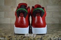 Nike Air Jordan 6 Retro Spizike Histoire De Jordan Red White 694091-625 Taille 10