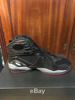 Nike Air Jordan 8 Retro 305381 022 Race Noir Gym Rouge Dead Stock Taille 11.5