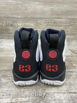 Nike Air Jordan 9 IX Retro Og Space Jam Blanc Noir Rouge 2016 302370-112 Taille 7
