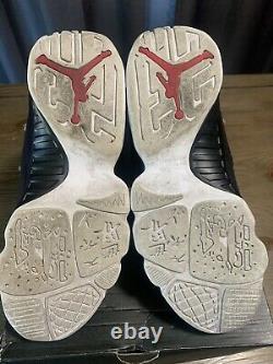 Nike Air Jordan 9 IX Retro Og Space Jam Blanc Noir Rouge 2016 Taille 9.5