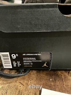 Nike Air Jordan 9 IX Retro Space Jam Blanc Noir Rouge 2016 Taille 9.5