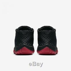 Nike Air Jordan Hommes Future Noir Taille Rouge 10 Royaume-uni 45 Eu (652141-006)