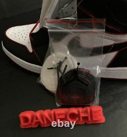 Nike Air Jordan Retro 1 High Og Bloodline Black Gym Rouge Hommes Taille 15 555088-062