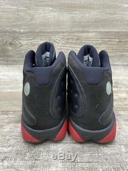 Nike Air Jordan Retro 13 Sale Bred Blanc Rouge Noir Bulls 414571-003 Taille 10.5