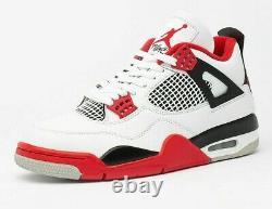 Nike Air Jordan Retro 4 Feu Rouge 2020 Dc7770-160 Taille 3-14 Hommes Et Enfants