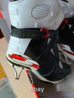 Nike Air Jordan Retro 8 Bottes Noir Rouge Taille 8.5 Femmes