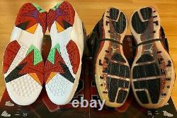 Nike Air Jordan Retro Chaussures Hare 7 VII Noir Rouge 16 Cdp Compte À Rebours 1 Hommes 10