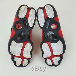 Nike Air Jordan Retro XIII 13 Bred Noir Rouge 414571-010 Taille 9.5 Men Nds
