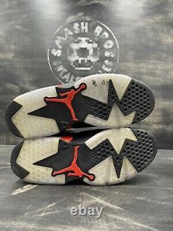 Nike Air Jordan VI 6 Retro Infrarouge Noir Rouge Taille 10.5 Og 384664-060 2019 Haut