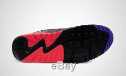 Nike Air Max 90 Essential Blanc Noir Rouge Violet Chaussures De Formateurs 6 7 8 9 10 11 12