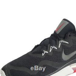 Nike Air Max Fury De Sport Pour Hommes Chaussures De Course Formateurs Noir / Rouge Uk 7-12