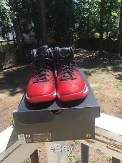 Nike Air Max Jordan XXXI 31 Banned Blk / Rouge 90 95 97 11 12 Bred 1 Hommes Taille 13