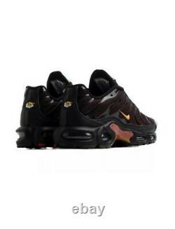 Nike Air Max Plus Tuned Tn Formateurs Noir Taille Uk 8 Eur 42,5 9 Nous Cv1636 002